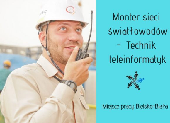Instalator – Technik teleinformatyk